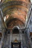 Estrela大教堂在里斯本,葡萄牙 库存照片