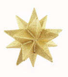Estrela 1 do ouro Foto de Stock