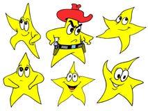 Estrela ilustração stock