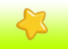 Estrela Foto de Stock Royalty Free