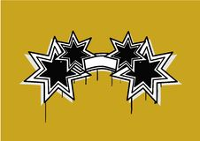 Estrela abstrata foto de stock royalty free