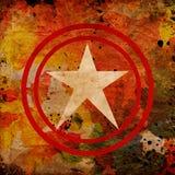 Estrela abstrata ilustração royalty free