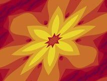 Estrela amarela ilustração royalty free
