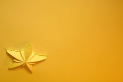 Estrela amarela Fotos de Stock Royalty Free
