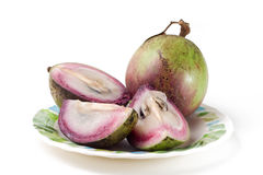 Estrela Apple (fruta asiática) Fotografia de Stock Royalty Free
