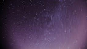 A estrela arrasta o fundo Fotos de Stock Royalty Free