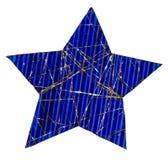 Estrela azul Imagem de Stock Royalty Free