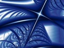 Estrela azul ilustração stock