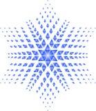 Estrela azul Imagens de Stock