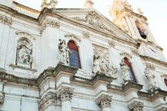 Estrela Basilica, Lisbon Stock Image