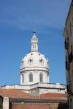 Estrela Basilica, Lisbon, Portugal. View over the Estrela Basilica, Lisbon, Portugal royalty free stock photography