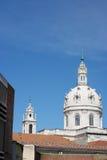 Estrela Basilica, Lisbon, Portugal. View over the Estrela Basilica, Lisbon, Portugal stock image
