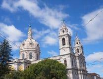The Estrela Basilica or Royal Basilica Stock Photography