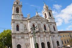 The Estrela Basilica or Royal Basilica Stock Images