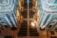 Estrela Basilica Royal Basilica and Convent of the Most Sacred Heart of Jesus In Lisbon. Portugal royalty free stock image