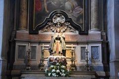 Estrela basilika i Lissabon, Portugal royaltyfri foto