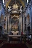 Estrela basilika i Lissabon, Portugal arkivbild
