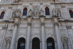 Estrela bazylika w Lisbon, Portugalia zdjęcie stock