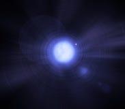 Estrela binária de Sirius - anão branco e estrela grande ilustração royalty free