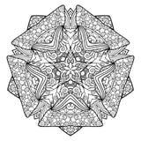 Estrela bonita de Deco do vetor ilustração royalty free