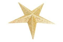 Estrela bonita do Natal Fotografia de Stock