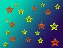 Estrela brilhante foto de stock