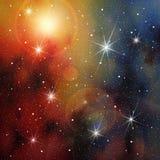 Estrela-campo Imagem de Stock Royalty Free