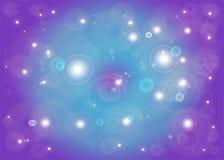 Estrela com alargamento da lente Imagens de Stock