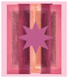 Estrela cor-de-rosa Fotos de Stock Royalty Free