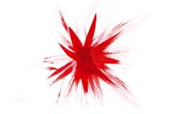 Estrela da aquarela Fotos de Stock Royalty Free