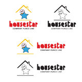 Estrela da casa Foto de Stock Royalty Free