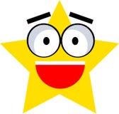 Estrela da cintilação Imagem de Stock Royalty Free
