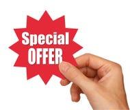 Estrela da oferta especial Fotografia de Stock