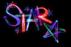 Estrela da palavra Fotos de Stock