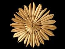 Estrela da palha Imagem de Stock