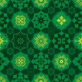 Estrela da ramadã muita teste padrão sem emenda do círculo do birght da simetria ilustração royalty free