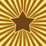 Estrela da volta Fotografia de Stock Royalty Free