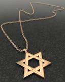 Estrela david Foto de Stock Royalty Free