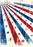 Estrela de América ilustração do vetor