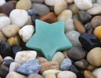 Estrela de Aventurine Foto de Stock Royalty Free