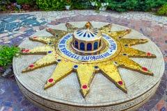 Estrela de Belém, ou Natal estrelas de 14 pontos Imagens de Stock