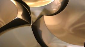 estrela de bronze cortada Foto de Stock Royalty Free