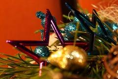 Estrela de Christmass Foto de Stock