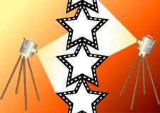Estrela de cinema 2 ilustração royalty free