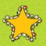 Estrela de crianças Imagens de Stock