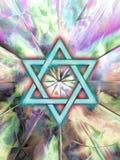 Estrela de David Imagem de Stock