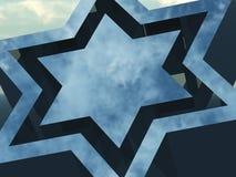 Estrela de David Foto de Stock