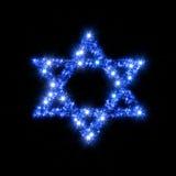 Estrela de David Foto de Stock Royalty Free