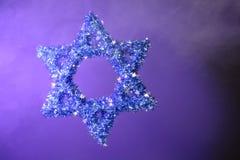 Estrela de David Imagens de Stock