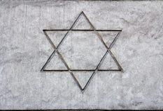 Estrela de David Fotografia de Stock